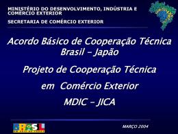 em 2003, as exportações brasileiras estabeleceram recorde