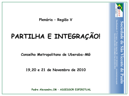 Espiritualidade Vicentina - Conselho Metropolitano de Goiânia da
