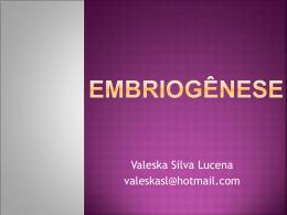 Embriogênese
