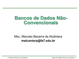 Bancos de Dados Não-Convencionais - fa7
