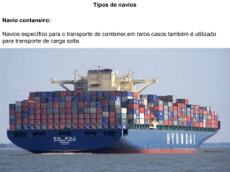 Navio Graneleiro - Universidade Castelo Branco
