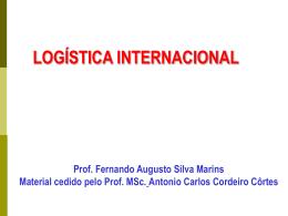 Aula 6 - Logística Internacional