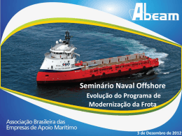 Palestra Naval Offshore 2012