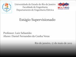 Apresentação Daniel Fernandes da Cunha Veras
