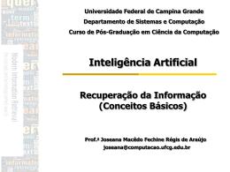 ppt - Computação UFCG - Universidade Federal de Campina Grande