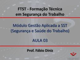 FTST - Gestão de SS..