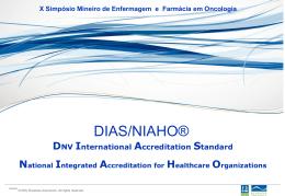 Qualidade em Oncologia-Certificação Internacional - Luiz