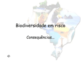 Biodiversidade em risco
