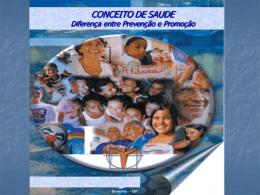 O conceito de saúde - Universidade Castelo Branco