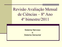 Revisão Avaliação Bimestral de Ciências 3º bimestre