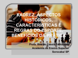 xadrez - Objetivo Sorocaba