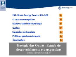 Wave Energy I
