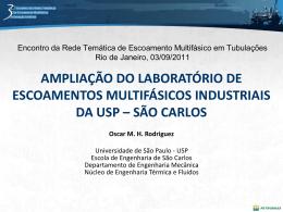 Slide 1 - Escola de Engenharia de São Carlos (EESC) da USP