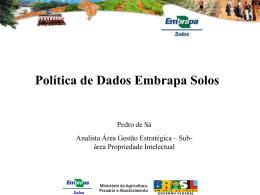 Politica de dados CNPS