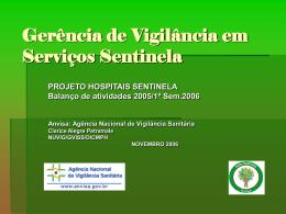Vigilância Sanitária de Produtos de Saúde Pós