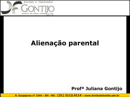 Alienação parental – slides