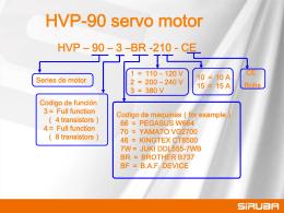 Ho shing servo motor presentation