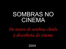 Slide 1 - Escola no Cinema