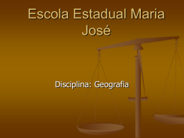 Escola Estadual Maria José