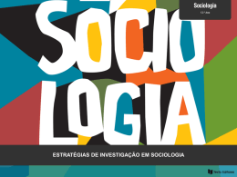 Estratégias de Investigação em Sociologia