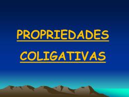 Propriedades coligativas QG-A26 e A27