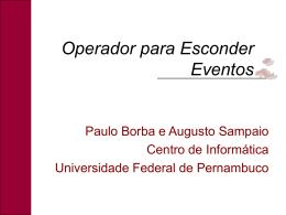 OperadorParaEsconderEventos