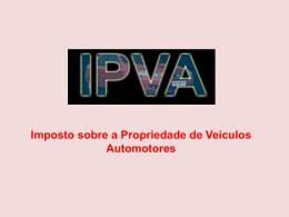 IPVA Apresentação.