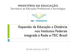 gestão sistêmica da educação a distância