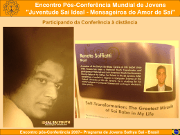 Participando da Conferência à distância