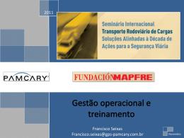 """12. """"GESTÃO OPERACIONAL E TREINAMENTO"""" – Francisco Seixas"""