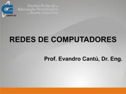 Curso de Capacitação Intelbras Redes Computadores Maio 2007
