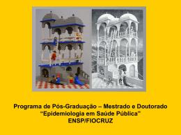 Programa de Pós-graduação em Epidemiologia e Saúde Pública
