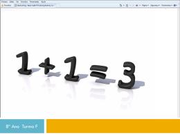 Jogo/teste de Matemática