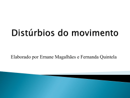 Distúrbios do movimento (2,6 MB