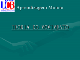 Fases do Movimento - Universidade Castelo Branco