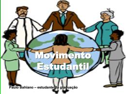 O que é Movimento Estudantil (apresentação de Power Point)