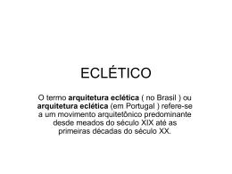 ECLÉTICO