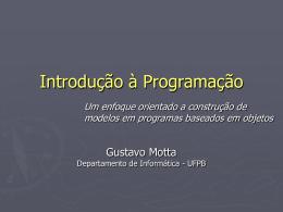 Programa - Departamento de Informática — UFPB