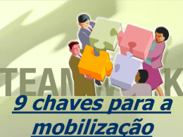 Chaves para a Mobilização