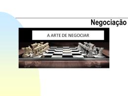 Negociação aula 1