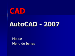 Aula de Auto Cad 2007 II