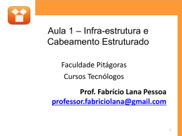 banda passante - Blog do Professor Fabricio Lana