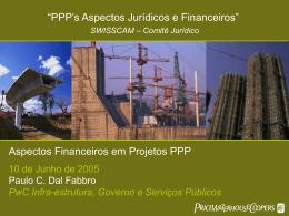 Parcerias Publico Privadas - Aspectos Financeiros