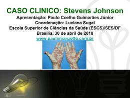 Caso Clínico: Síndrome de Stevens Johnson