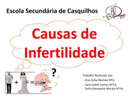 Causas de Infertilidade