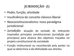 ORGANIZAÇÃO DA JUSTIÇA DO TRABALHO I