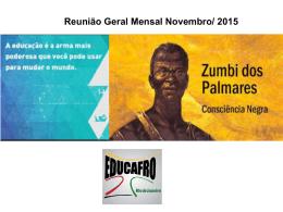 Reunião Geral Mensal Junho/ 2015