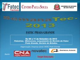 SemanaTec2013_FatecPG