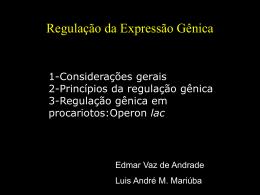 Regulação da Expressão Gênica e Tradução de Proteínas