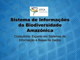 Sistema de Informações da Biodiversidade Amazônica